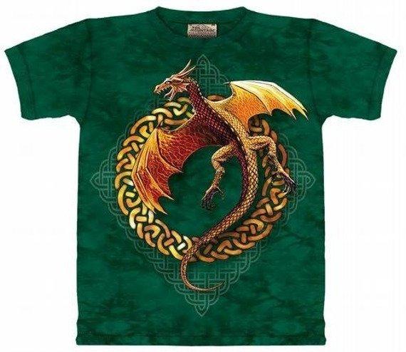 koszulka THE MOUNTAIN - CIRCLE DRAGON