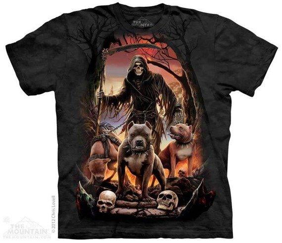 koszulka THE MOUNTAIN - DEATHS PACK, barwiona