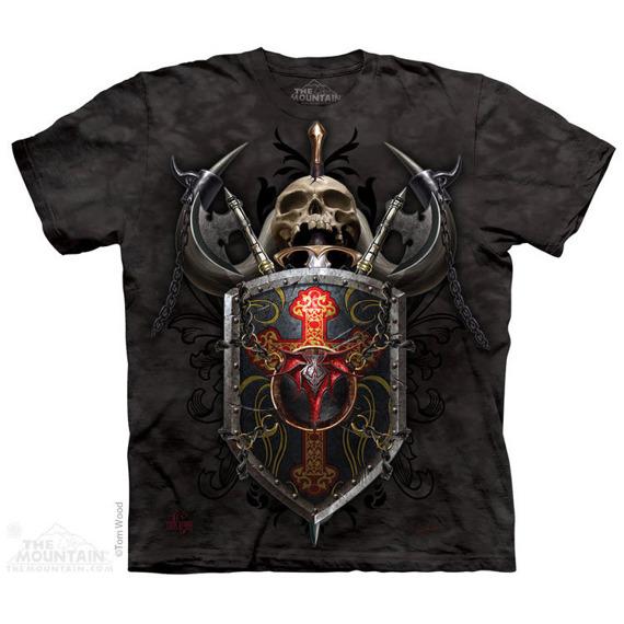 koszulka THE MOUNTAIN - DRAGON SHIELD, barwiona