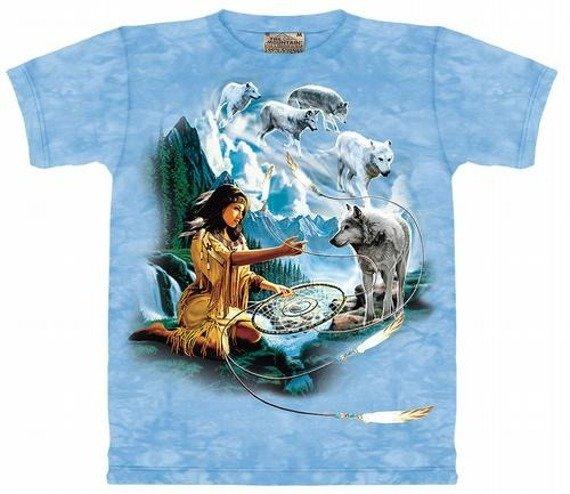 koszulka THE MOUNTAIN - DREAMS OF WOLF SPIRIT