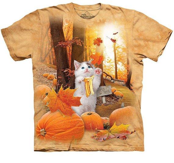 koszulka THE MOUNTAIN - FALL KITTY, barwiona