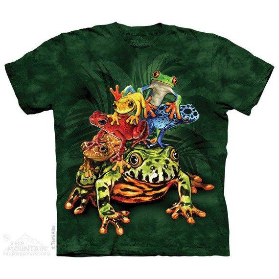 koszulka THE MOUNTAIN - FROG PILE, barwiona