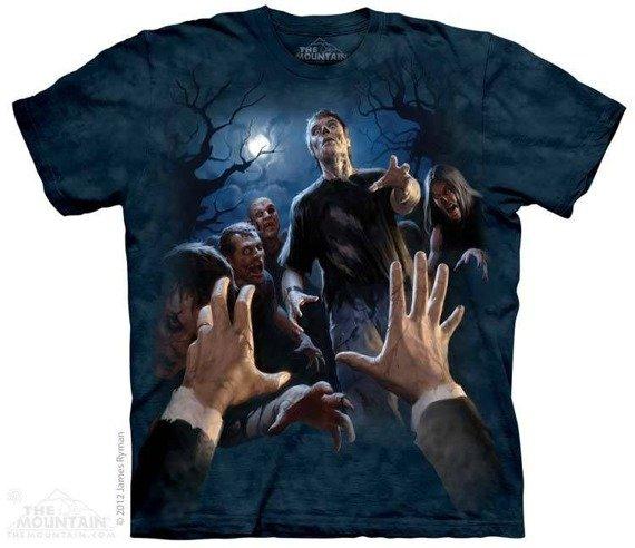 koszulka THE MOUNTAIN - LAST BREATH, barwiona