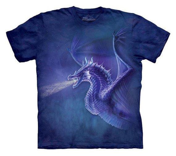 koszulka THE MOUNTAIN - MYSTICAL DRAGON, barwiona