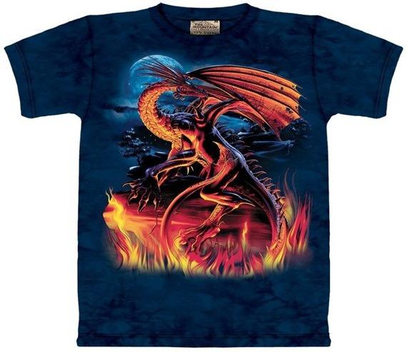 koszulka THE MOUNTAIN - NIGHT DRAGON