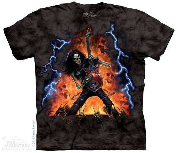 koszulka THE MOUNTAIN - PLAY WITH FIRE, barwiona