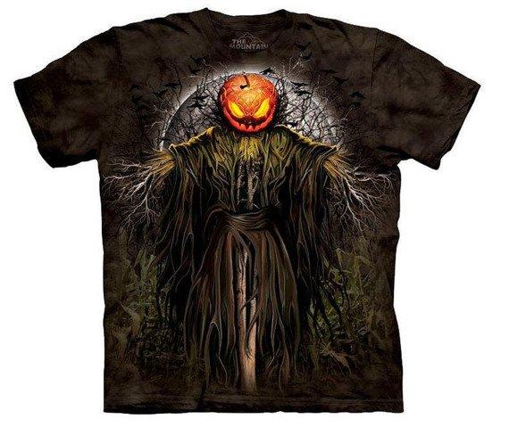 koszulka THE MOUNTAIN - PUMPKIN KING, barwiona