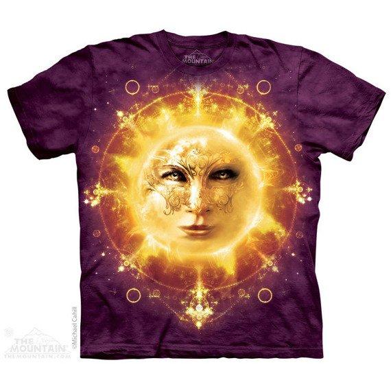 koszulka THE MOUNTAIN - SUN FACE, barwiona