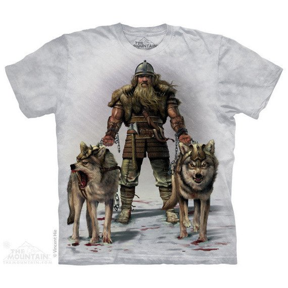 koszulka THE MOUNTAIN - VIKING HUNT, barwiona