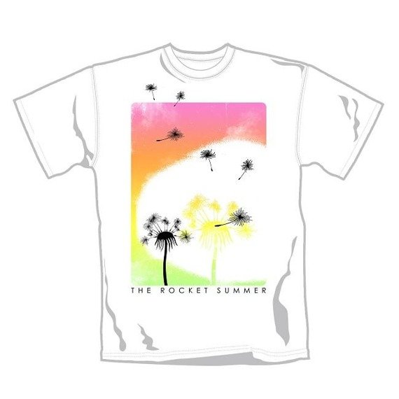 koszulka THE ROCKET SUMMER - FLOWERS