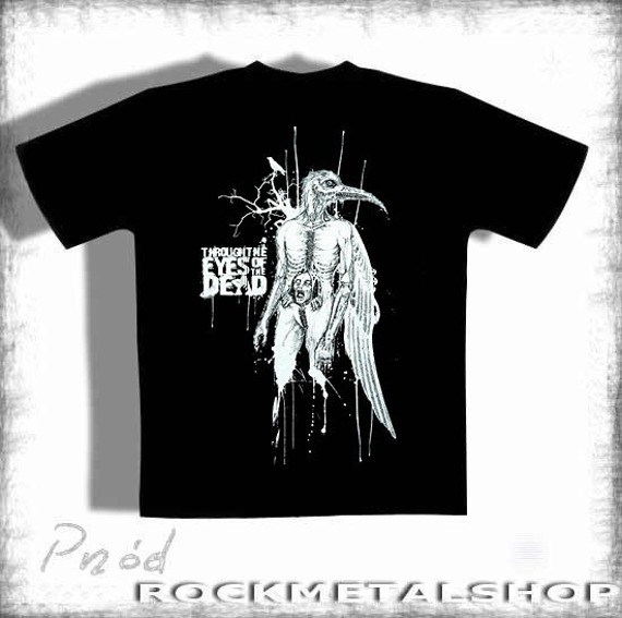 koszulka  THROUGH THE EYES OF THE DEAD -BIRD MAN