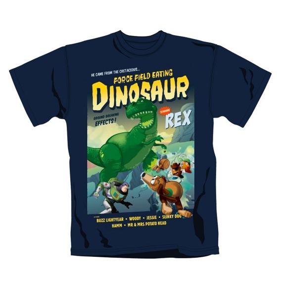 koszulka TOY STORY - REX DINOSAUR