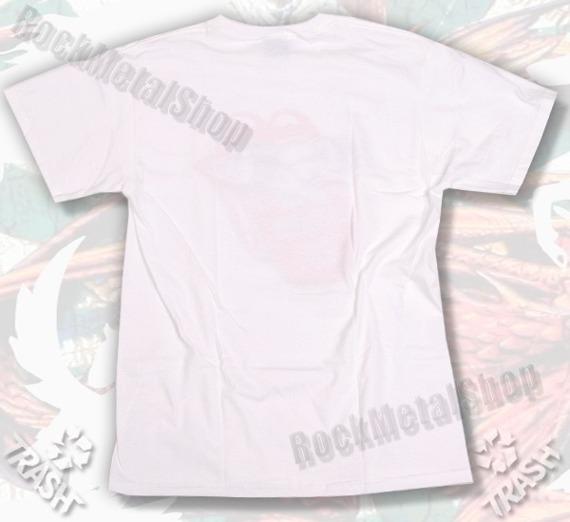 koszulka TRASH DESKO-ROCK'N'ROLLKA biała