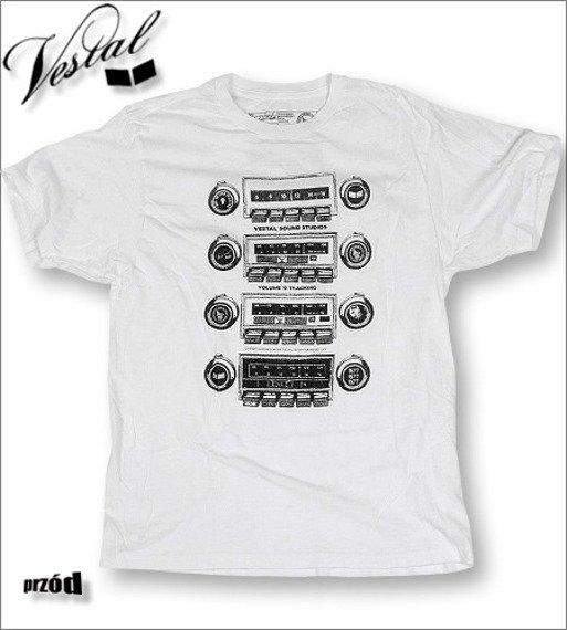 koszulka VESTAL - CAR RADIO (WHITE)  KVEST-005