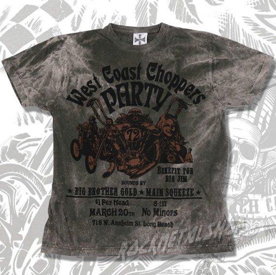 koszulka WEST COAST CHOPPERS - BISON vintage