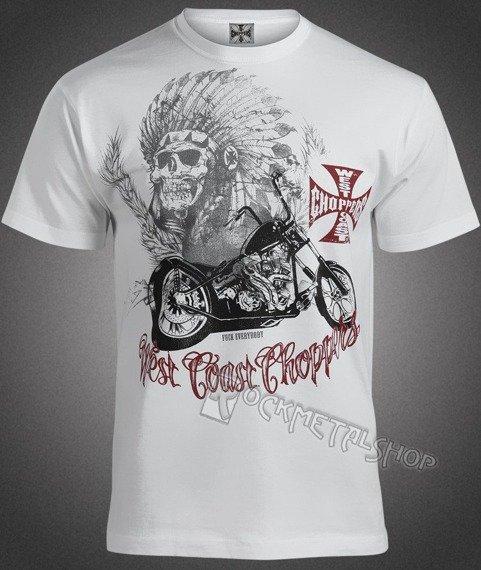 koszulka WEST COAST CHOPPERS - CHIEF biała