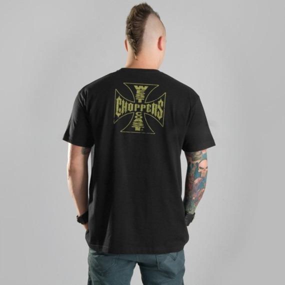 koszulka WEST COAST CHOPPERS - SPEEDWAY czarna