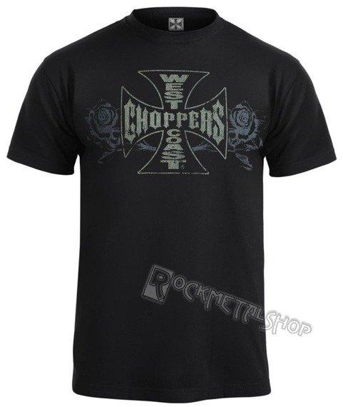 koszulka WEST COAST CHOPPERS - SURY ROSE czarna