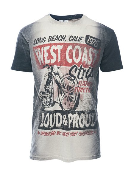 koszulka WEST COAST CHOPPERS - THE STRIP, barwiona