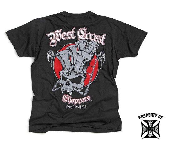 koszulka WEST COAST CHOPPERS - VELOCITY czarna
