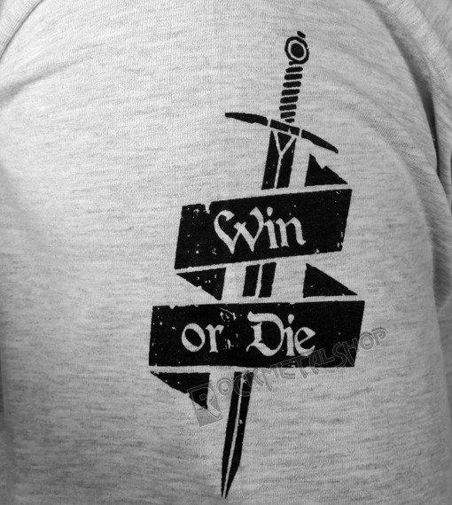 koszulka WIN OR DIE szara