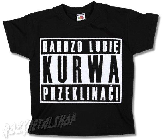 koszulka dziecięca BARDZO LUBIĘ...