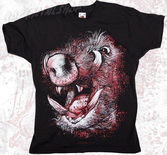 koszulka dziecięca BLACK ICON - PIG (JICON007BLACK)
