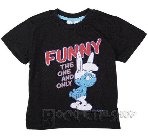 koszulka dziecięca SMERFY - FUNNY, THE ONE AND ONLY
