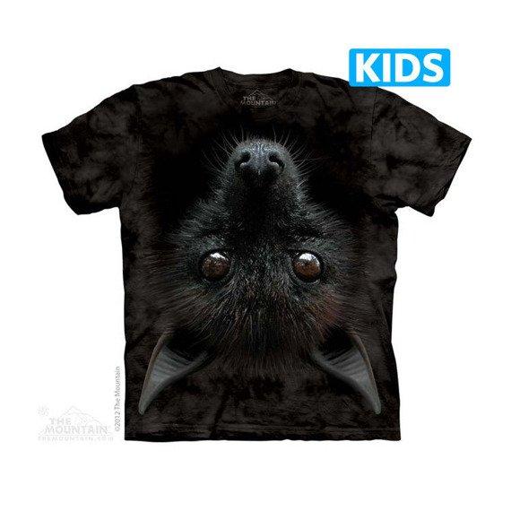 koszulka dziecięca THE MOUNTAIN - BAT HEAD, barwiona