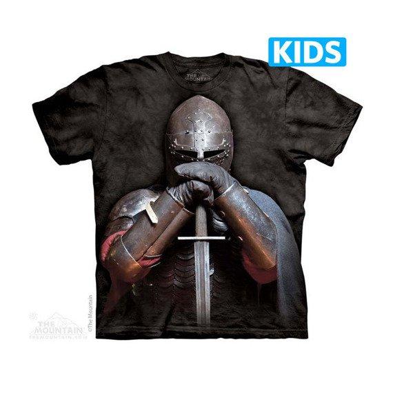 koszulka dziecięca THE MOUNTAIN - KNIGHT, barwiona