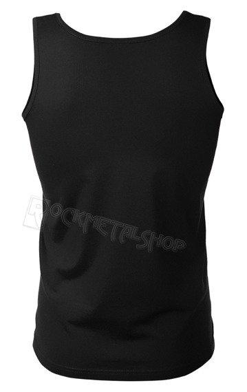 koszulka na ramiączkach KULT - LOGO CZERWONE czarna