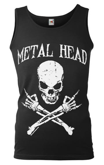 koszulka na ramiączkach METAL HEAD