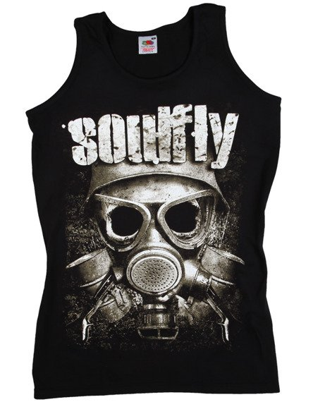 koszulka na ramiączkach SOULFLY - MASK