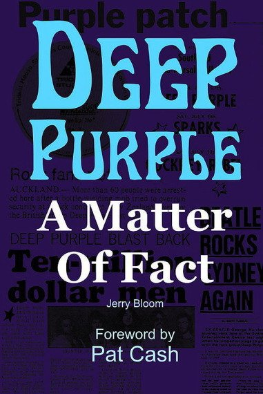 książka DEEP PURPLE - A MATTER OF FACT (JERRY BLOOM), wersja anglojęzyczna