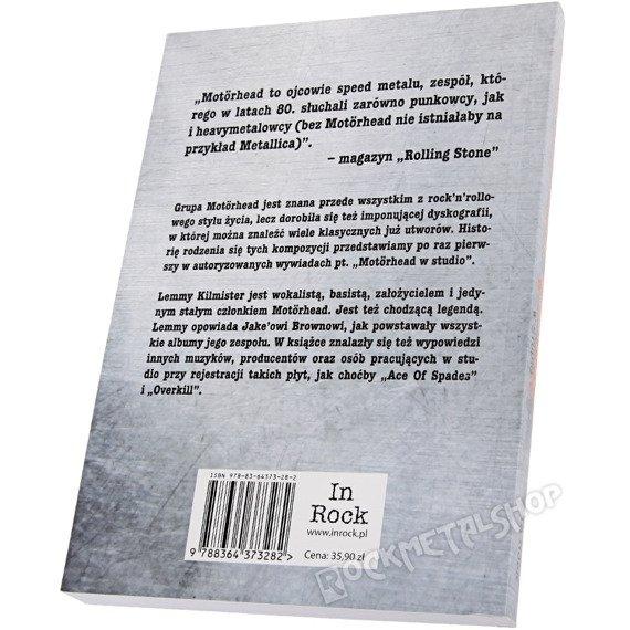 książka MOTORHEAD. W STUDIO