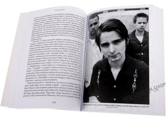 książka Nie z tego świata: Historia MUSE, autor: Mark Beaumont