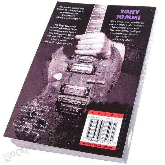 książka TONY IOMMI: IRON MAN, Moja podróż przez NIEBO I PIEKŁO z BLACK SABBATH