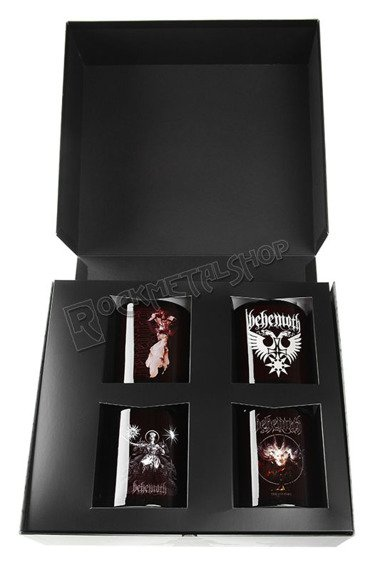 kubek BEHEMOTH, zestaw 4 kubków kolekcjonerskich