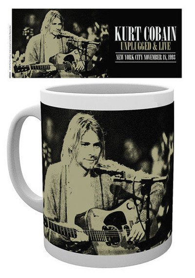 kubek KURT COBAIN - UNPLUGGED