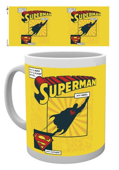 kubek SUPERMAN - IS IT A BIRD? DAD MUG
