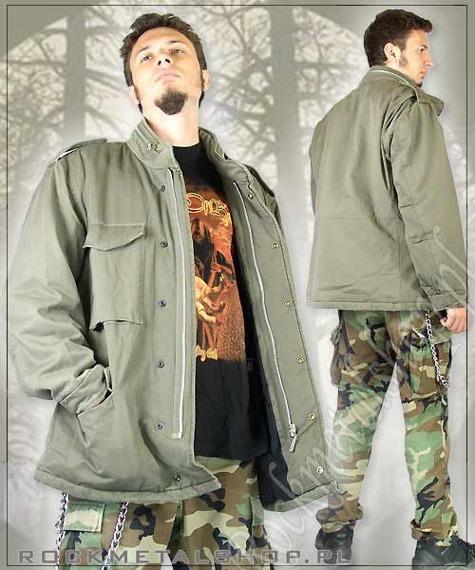 kurtka M65 Jacke Washed kolor oliwkowy