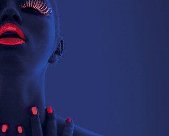 lakier do paznokci UV POMARAŃCZOWY