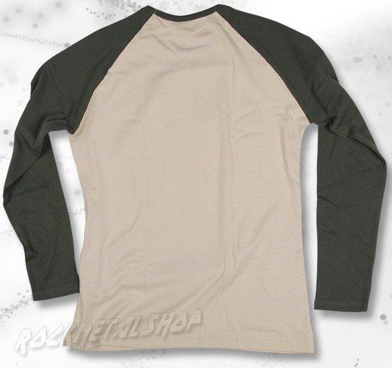 longsleeve BLACK ICON - CONQUEROR khaki / beżowy (LICON058)