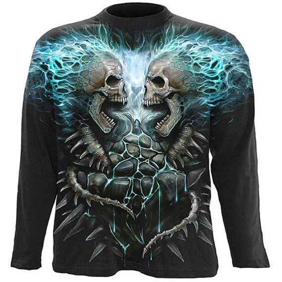 longsleeve FLAMING SPINE
