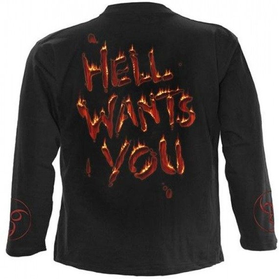 longsleeve HELL WANTS YOU