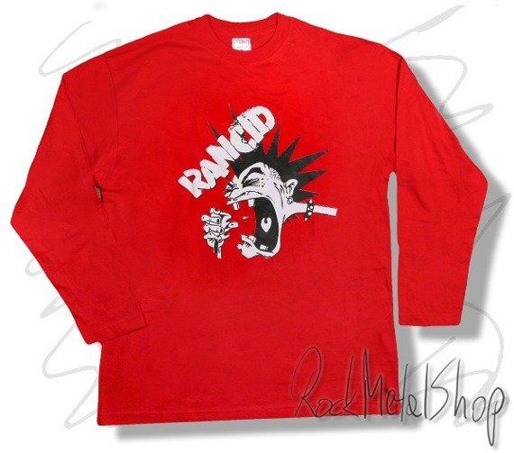 longsleeve RANCID - RED
