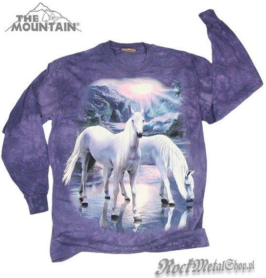 longsleeve THE MOUNTAIN - MYSTICAL HORSES