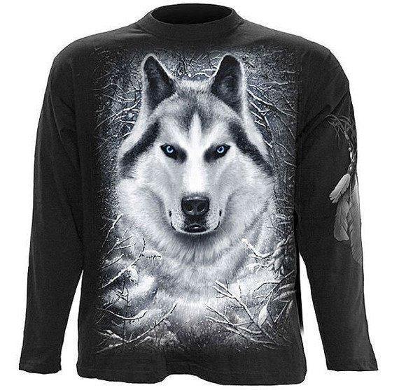 longsleeve WHITE WOLF
