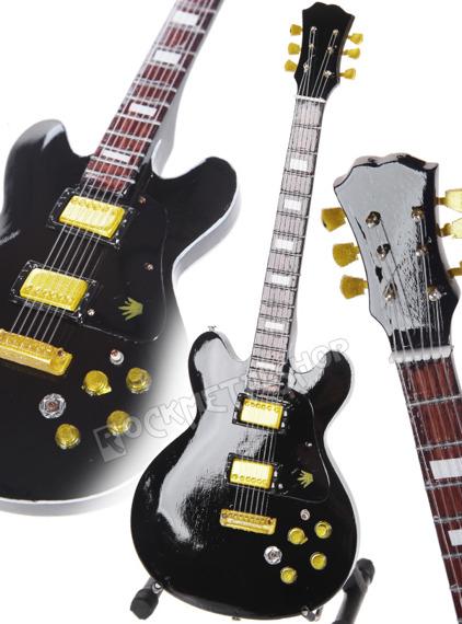miniaturka gitary B. B. KING - GIBSON LUCILLE SG 80TH B'DAY
