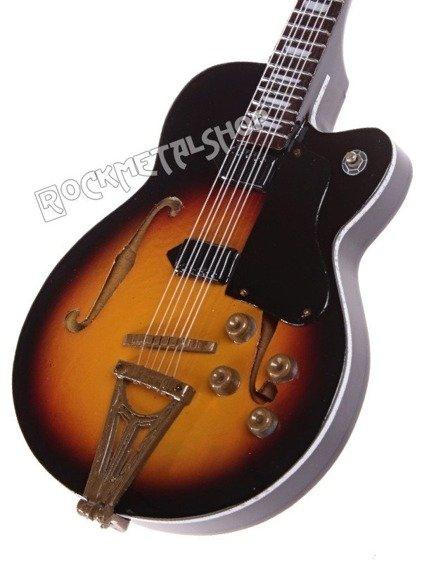 miniaturka gitary ELVIS PRESLEY - SCOTTY MOORE: GIBSON SUPER 400